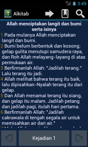 Go Bible Indonesia | Berbagai modul Alkitab untuk hp (Java, Symbian